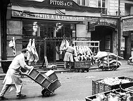 Aux halles 1939 souvenirs et expressions imag es - Les halles paris magasins ...
